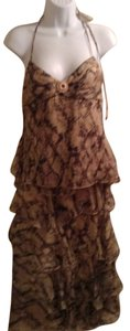Laundry by Shelli Segal separate skirt with beaded waist and tank top.