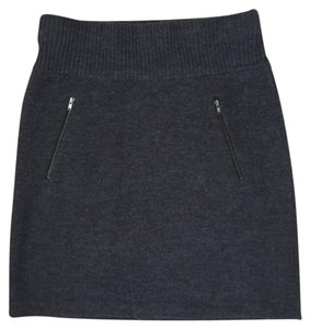 Ann Taylor LOFT Work Attire Knit Winter Mini Skirt