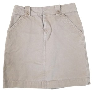 Gap Factory Khaki Skirt