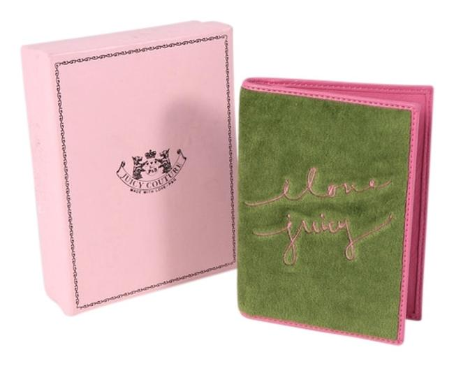 Item - Green/Pink * Cotton Planner Cover Wallet