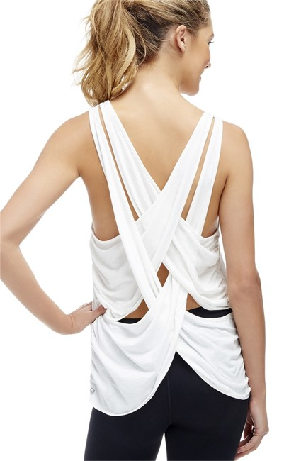 Item - White Taylor Activewear Top Size 8 (M, 29, 30)