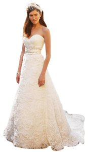 Casablanca Casablanca 2048 Ivory/champagne Wedding Dress Wedding Dress