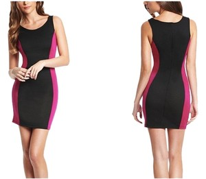 Guess Mini Pencil Color-blocking Sleeveless Dress