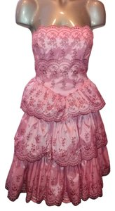 Betsey Johnson Fit Flare Tiered Dress