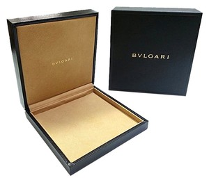 BVLGARI BVLGARI Leather Jewelry Box