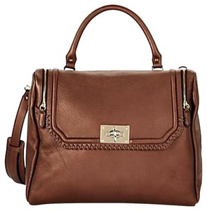 Be&D Material: Leather Satchel in Copper