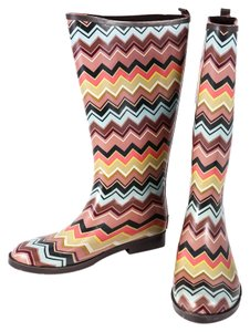 Missoni For Target Multicolor Boots