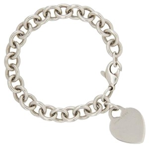 Tiffany & Co. Authentic Tiffany & Co. Sterling Silver Heart Tag Bracelet