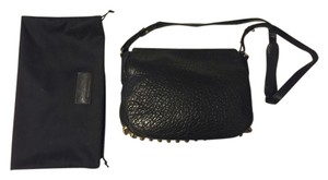 Alexander Wang Leather Pebbled Leather Lia Cross Body Bag