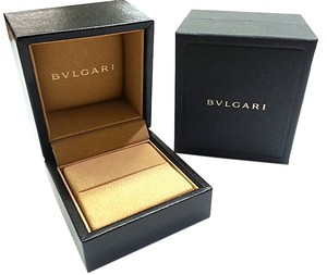 BVLGARI Small Leather Ring Box
