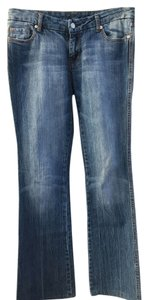 7 For All Mankind Sequin A Pocket Boot Cut Jeans