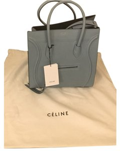 Céline Tote in Antique Blue