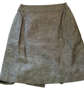 Banana Republic Pencil Skirt Gray, Black/White