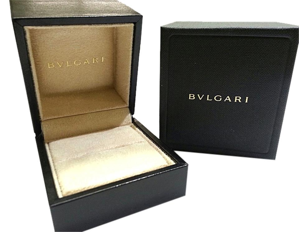 Bvlgari Small Leather Ring Box With Suede Inside Image 0