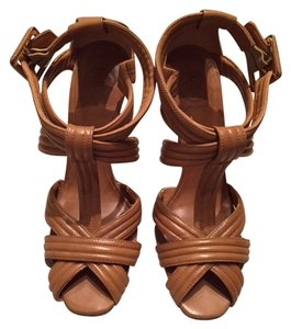Tory Burch Leather New Never Worn Tan Sandals
