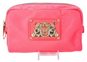 Juicy Couture * Juicy Couture Small Nylon Cosmetic Case Pink