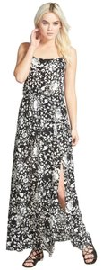 BLACK SOFT BOUQUET Maxi Dress by Leith