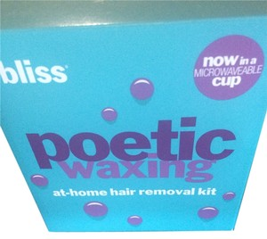 Bliss Bliss Poetic Waxing - Microwaveable Waxing Kit - New