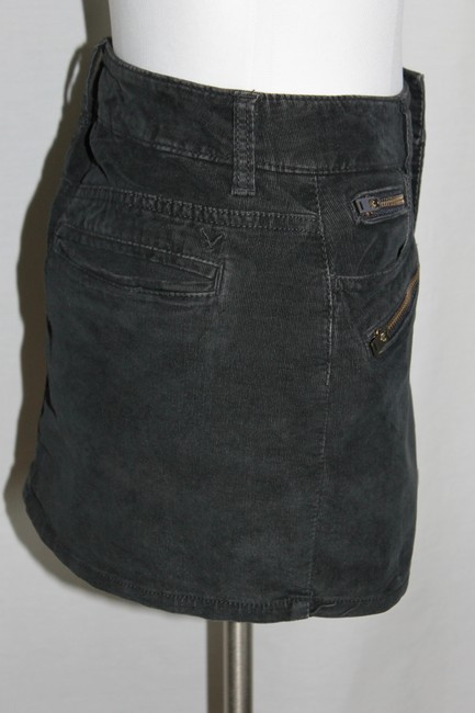 American Eagle Outfitters Mini Skirt Charcoal