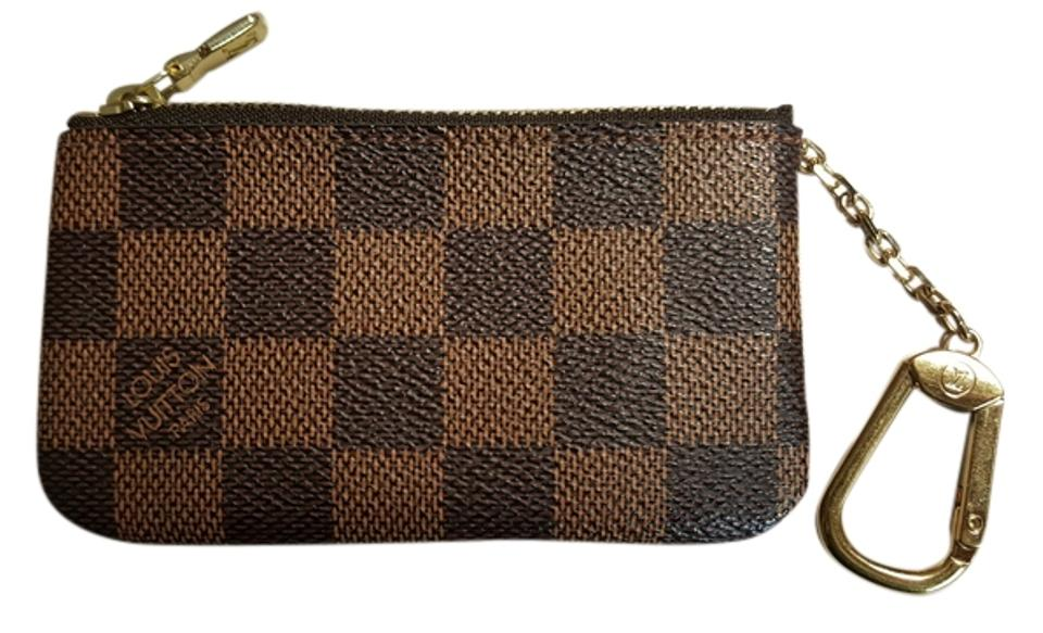 c426a8f597f3 Louis Vuitton Brown Damier Ebene Key Pouch N62658 Wallet - Tradesy
