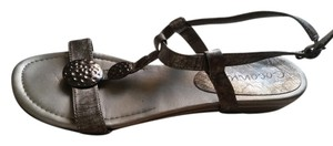 Coconuts Hardware Wedge silver Sandals
