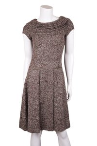 Oscar de la Renta short dress Brown on Tradesy