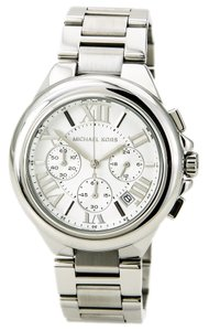 Michael Kors NWT Michael Kors Women's chronograph silver tone watch