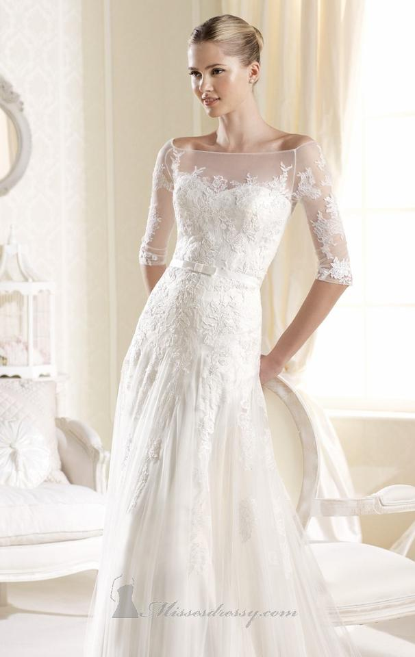 La sposa igartua wedding dress tradesy for La sposa wedding dress price