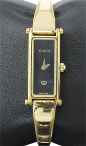 Gucci * Gucci Ladies Watch 1500 Gold Tone