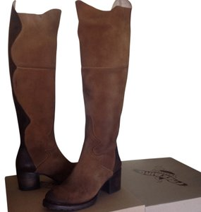 FreeBird By Steven Leather Tan Boots