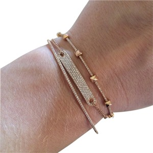 Other Gold and Diamond Bangle Bracelet