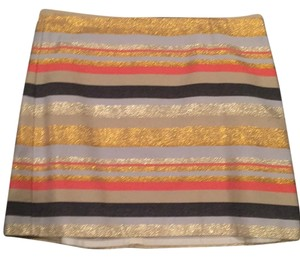 J.Crew Mini Skirt Multi