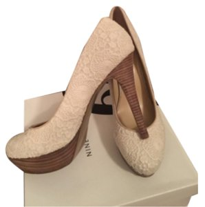Nine West Cream Platforms