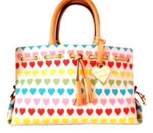 Dooney & Bourke Tote in Rainbow