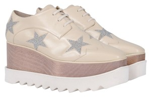 Stella McCartney Ecru Platforms