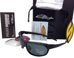Smith Optics New SMITH OPTICS OVERDRIVE OVPPGYBK Black Frame w/Polarized Grey, Ignitor and Clear lenses