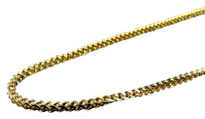 Other Mens .316 Stainless Steel Franco Style Chain In Yellow Gold Finish 32 2.7mm