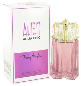 Thierry Mugler ALIEN AQUA CHIC by THIERRY MUGLER ~ Light Eau de Toilette Spray 2 oz
