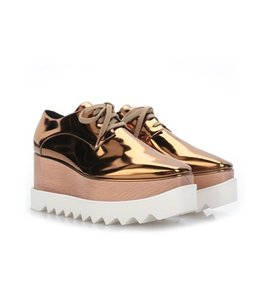 Stella McCartney Bronze Platforms
