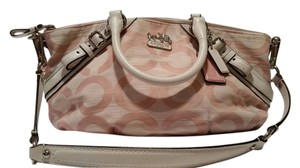 Coach Satchel in Pastel Pink