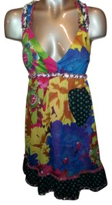 Desigual short dress Multicolor on Tradesy