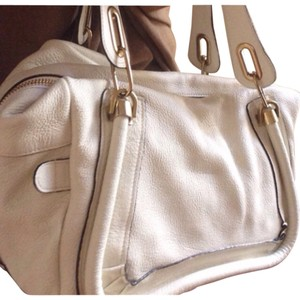Chloé Satchel in Ivory