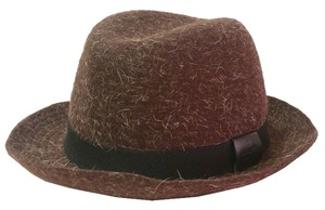 Gucci Authentic Gucci Brown Wool Hat