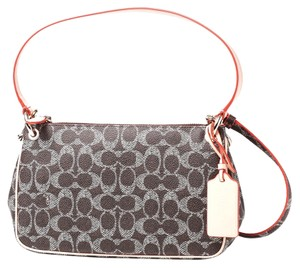 Coach Signature Charley Cross Body Bag
