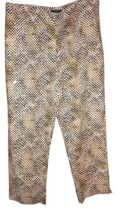 Other Capris Black/Taupe/White