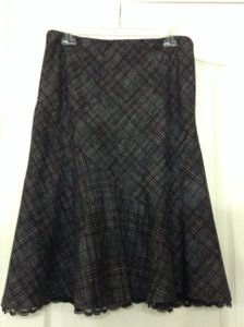 Express Skirt gray, black, burgundy