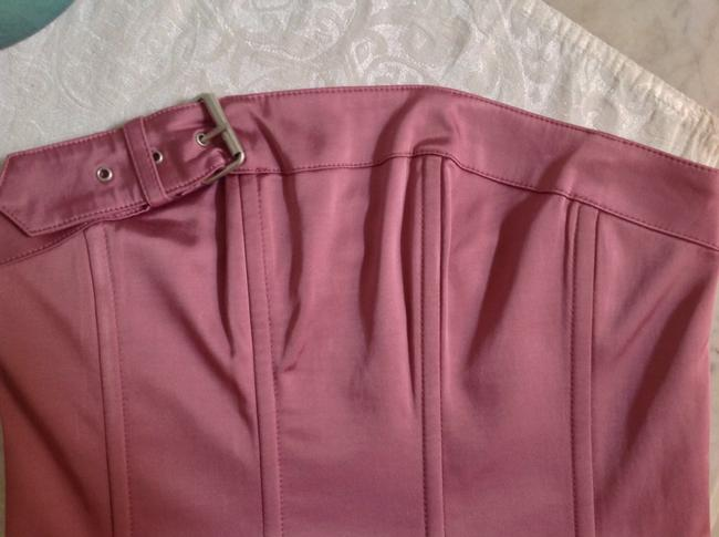 Guess Strapless Cropped Top Rose