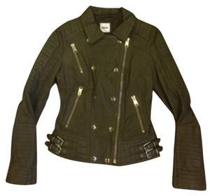 ANINE BING Leather Moto Motorcycle Jacket