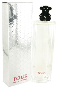 TOUS TOUS SILVER ~ Women's Eau de Toilette Spray 3 oz