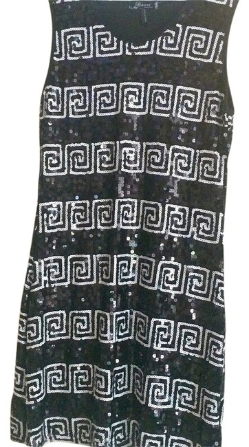 Preload https://img-static.tradesy.com/item/1220842/baci-black-and-white-sequin-from-italy-above-knee-cocktail-dress-size-8-m-0-0-650-650.jpg